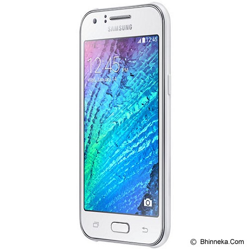 SAMSUNG Galaxy J1 [SM-J100H] - White - Smart Phone Android